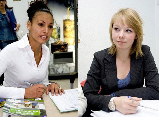 Alumnas del curso de Español de Paraninfo
