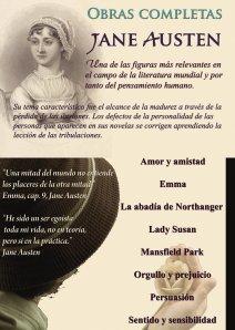 LIBROS DE JANE AUSTEN.