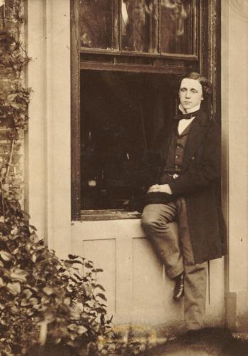 Lewis Carroll (Charles Lutwidge Dodgson 1832-1898).Self Portrait, Circa 1863. Albumen Print.